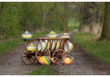 Umělecké smaltované  nádobí - BELIS